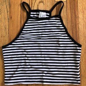 Striped H&M tank top
